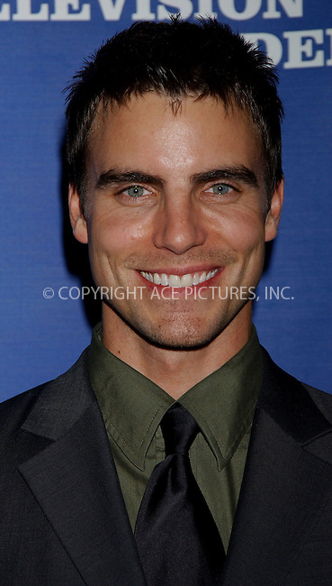 WWW.ACEPIXS.COM . . . . . ....NEW YORK, APRIL 22, 2006....Colin Egglesfield at the 33rd Annual Creative Arts EMMY Awards.....Please byline: KRISTIN CALLAHAN - ACEPIXS.COM.. . . . . . ..Ace Pictures, Inc:  ..(212) 243-8787 or (646) 679 0430..e-mail: picturedesk@acepixs.com..web: http://www.acepixs.com