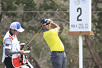 Hideki Matsuyama (JPN) on the 2nd during the 1st round at the WGC Dell Technologies Matchplay championship, Austin Country Club, Austin, Texas, USA. 22/03/2017.<br /> Picture: Golffile | Fran Caffrey<br /> <br /> <br /> All photo usage must carry mandatory copyright credit (&copy; Golffile | Fran Caffrey)