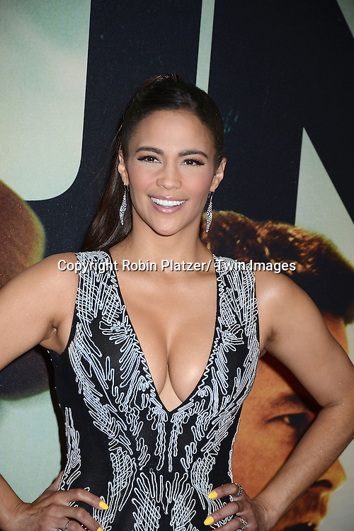 Paula Patton attends the World Premiere of &quot;2 Guns&quot; on July 29, 2013<br /> at The SVA Theatre in New York City. The movie stars Denzel Washington, Mark Wahlberg, Paula Patton, Bill Paxton, James Marsden and Edward James Olmos.
