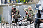 Listowel Military Tattoo: Action scene from the takeover of Listowel town by German soldier on Saturday last.