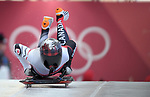 Elisabeth Vathje (CAN). Womens Skeleton training. Pyeongchang2018 winter Olympics. Olympic sliding centre. Alpensia. Pyeongchang. Republic of Korea. 07/02/2018. ~ MANDATORY CREDIT Garry Bowden/SIPPA - NO UNAUTHORISED USE - +44 7837 394578