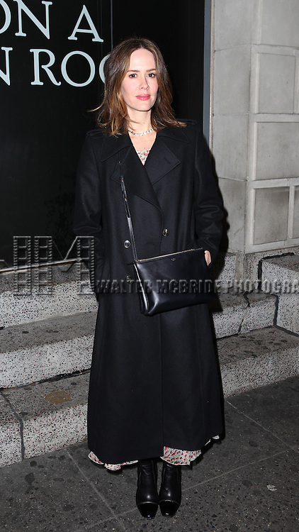Sarah Paulson attending the Broadway Opening Night Performance of 'Cat On A Hot Tin Roof' at the Richard Rodgers Theatre in New York City on 1/17/2013