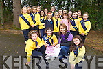 Cill Dubh Brownies will be holding a clothing Recycling Drive on Friday October 12th and are looking for donations. Pictured from front l-r were: Niamh Lynch, Carly Quinlivan, Cathy Palmer ad Nora Curran. Back l-r were: Millie Dunne, Emma Leen, Sinead McKeown, Ellie Sugrue, Cáit Rice, Rachel O'Connor, Roisin Raggett, Aoife Galvin, Lauren O'Connor, Melissa Sweeney, Ciara Palmer, Roisin Long, Jessica Wharton, Lisa Curran, Bridget Sheehan and Cora Savage.