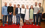 Daniel Jenkins, David Chandler, Ron Crawford, Keith Reddin, Lisa Emery, Kathleen Chalfant, Sarah Ruhl, Les Waters and Tim Sanford with Macy attend the meet & Greet for Playwrights Horizons New York Premiere pf 'For Peter Pan on her 70th Birthday' on July 25, 2017 at the Playwrights Horizons Studios at  in New York City.