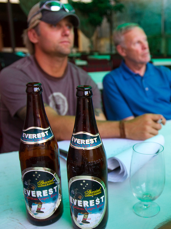 Everest beer. Photo by Didrik Johnck