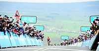 Picture by SWpix.com 04/05/2018 - Cycling Asda Women's Tour de Yorkshire - Stage 2 Barnsley to Ilkley - Boels Dolmans Megan Guarnier takes the win on Stage 2 and the overall Asda Tour de Yorkshire Women's Race title as she summits the Cote de Cow and Calf at Ilkley.