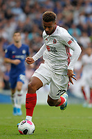 Lys Mousset of Sheffield United dribbling during the Premier League match between Chelsea and Sheff United at Stamford Bridge, London, England on 31 August 2019. Photo by Carlton Myrie / PRiME Media Images.