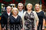 Enjoying the Castlegregory GAA club social were L-R Edward&Siobhan Hennessy, Tom O'Donnell, Helen Gibbons and Liz o'Donoghue.