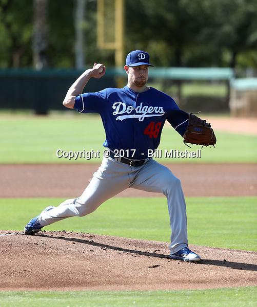 Brock Stewart - 2017 AIL Dodgers (Bill Mitchell)