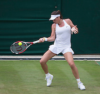 AJLA TOMLJANOVIC (CRO)<br /> <br /> The Championships Wimbledon 2014 - The All England Lawn Tennis Club -  London - UK -  ATP - ITF - WTA-2014  - Grand Slam - Great Britain -  24th June 2014. <br /> <br /> &copy; Tennis Photo Network