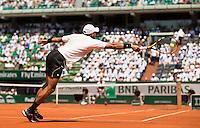 JO-WILFRIED TSONGA (FRA)<br /> <br /> Tennis - French Open 2015 -  Roland Garros - Paris -  ATP-WTA - ITF - 2015  - France <br /> <br /> &copy; AMN IMAGES
