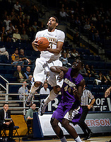 Allen Crabbe of California prepares to dunk the ball during the game against SFSU at Haas Paviliion in Berkeley, California on November 6th, 2012.  California defeated San Francisco State, 89-80.
