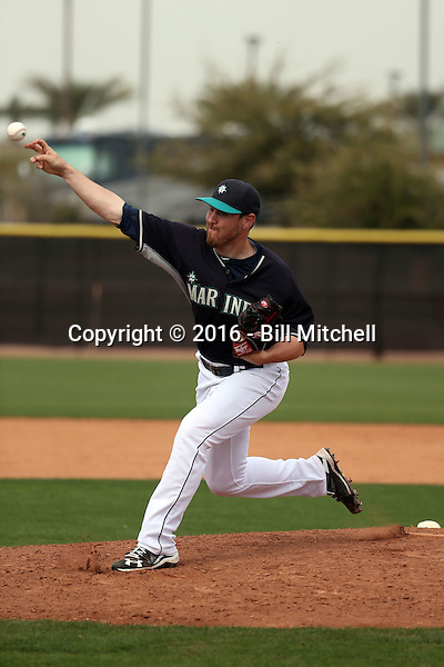 Matt Anderson - Seattle Mariners 2016 spring training (Bill Mitchell)