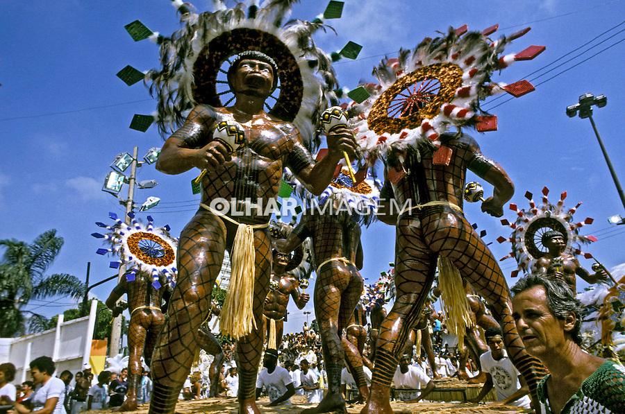 Desfile de carnaval da Padre Miguel. Rio de Janeiro. I983. Foto de Juca Martins.