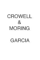 Crowell & Moring Garcia