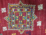 ATK-696 ANTIQUE EMBROIDERY PATCH FROM GUJARAT