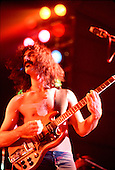 Frank Zappa plays the guitar at Northern Michigan University in Marquette Michigan on 4/21/74