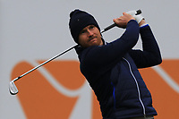 Mathieu Fenasse (FRA) on the 6th tee during Round 4 of the Challenge Tour Grand Final 2019 at Club de Golf Alcanada, Port d'Alcúdia, Mallorca, Spain on Sunday 10th November 2019.<br /> Picture:  Thos Caffrey / Golffile<br /> <br /> All photo usage must carry mandatory copyright credit (© Golffile | Thos Caffrey)