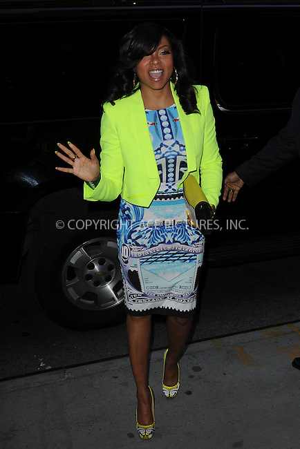 WWW.ACEPIXS.COM . . . . . .April 21, 2013...New York City....Taraji P. Henson attends the Cinema Society screening of 'Mud' at The Museum of Modern Art on April 21, 2013 in New York City ....Please byline: KRISTIN CALLAHAN - ACEPIXS.COM.. . . . . . ..Ace Pictures, Inc: ..tel: (212) 243 8787 or (646) 769 0430..e-mail: info@acepixs.com..web: http://www.acepixs.com .