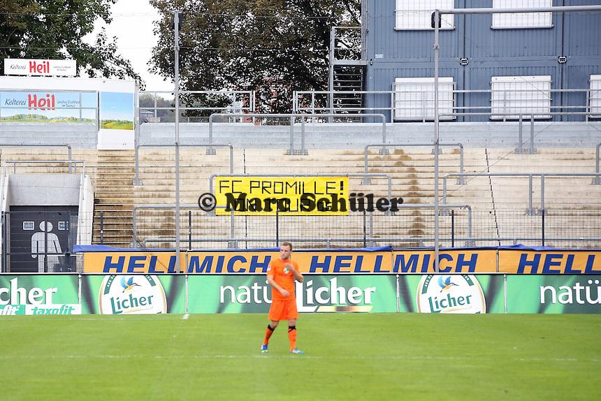 Alkoholverbot in Stadien zeigt Wirkung - FSV Frankfurt vs. FC Erzgebirge Aue, Frankfurter Volksbank Stadion