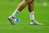 1st November 2017, Wembley Stadium, London, England; UEFA Champions League, Tottenham Hotspur versus Real Madrid; The boots of Cristiano Ronaldo of Real Madrid