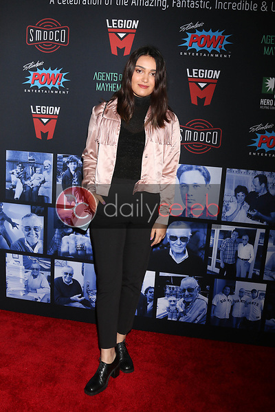 """Ariela Barer<br /> at """"Excelsior! A Celebration of the Amazing, Fantastic, Incredible & Uncanny Life of Stan Lee,"""" TCL Chinese Theater, Hollywood, CA 01-30-19<br /> David Edwards/DailyCeleb.com 818-249-4998"""