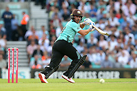 Aaron Finch in batting action for Surrey during Surrey vs Essex Eagles, Vitality Blast T20 Cricket at the Kia Oval on 12th July 2018