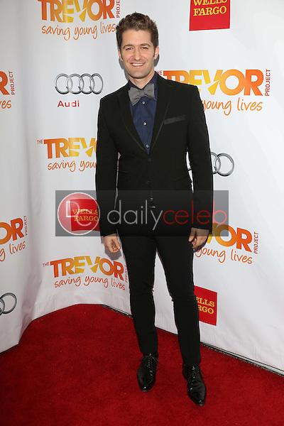 Matthew Morrison<br /> at the 2012 Trevor Project Live, Palladium, Hollywood, CA 12-02-12<br /> David Edwards/DailyCeleb.com 818-249-4998