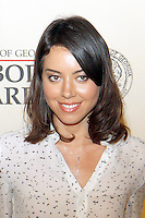 Aubrey Plaza at The George Foster Peabody Awards at the Waldorf Astoria in New York City. May 21, 2012. © Laura Trevino/MediaPunch Inc.