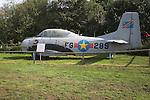 North American T-28C Trojan Norfolk  Suffolk aviation museum Flixton Bungay England.