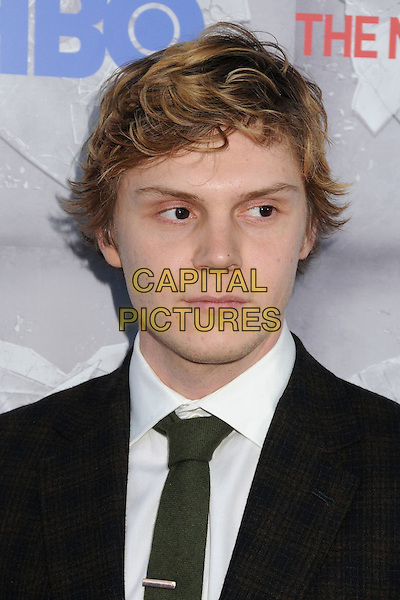 19 May 2014 - Beverly Hills, California - Evan Peters. &quot;The Normal Heart&quot; Los Angeles Premiere held at The WGA Theater. <br /> CAP/ADM/BP<br /> &copy;Byron Purvis/AdMedia/Capital Pictures