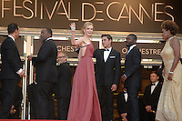 """Nicole Kidman, Lee Daniels Zac Efron , David Oyelowo Macy Gray Matthew Mcconaughey  - """" Paperboy """" premiere at the 65th Cannes Film Festival at the Palais des Festivals..May 24th, 2012."""