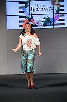 SÃO PAULO, SP, 24.07.2016 - MODA-SP - Desfile da marca Maria Abacaxita durante o 14 Fashion Weekend Plus Size que acontece neste domingo, 24 no Centro de Convenções Frei Caneca. (Foto: Ciça Neder/Brazil Photo Press)
