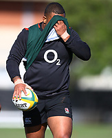 Kyle Sinckler (Harlequins) during the England Rugby training session at  Jonsson Kings Park Stadium,Durban.South Africa. 05,06,2018 Photo by Steve Haag)