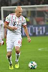 12.01.2018, BayArena, Leverkusen , GER, 1.FBL., Bayer 04 Leverkusen vs. FC Bayern M&uuml;nchen<br /> im Bild / picture shows: <br /> Arjen Robben (Bayern Muenchen #10),  <br /> <br /> <br /> Foto &copy; nordphoto / Meuter