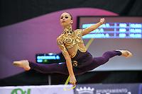 Viktoriya Shynkarenko of Ukraine (junior) performs at 2010 Grand Prix Marbella at San Pedro Al Cantara, Spain on May 14, 2010.  (Photo by Tom Theobald).