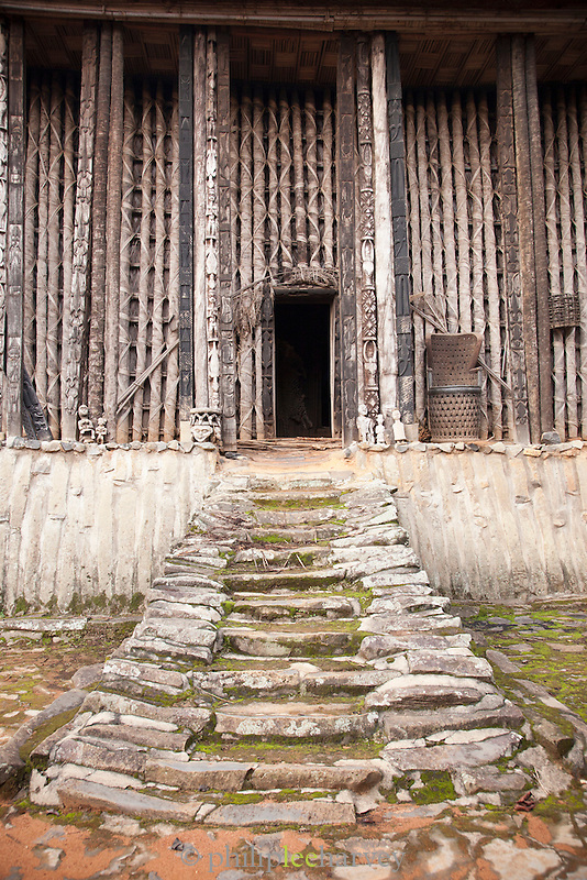 The Achum Shrine at the Fons (local tribal leader) Palace in Bafut, Cameroon