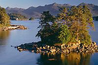 Sitka Sound from Japonski Island <br /> Baranof Island <br /> Sitka<br /> Southeast  Alaska