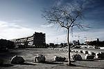 La Seyne-sur-Mer, banlieue de Toulon. François Hollande est venu pendant sa campagne dénoncer la fermeture de la maternité. Ce quartier est en pleine reconstruction et François Hollande avait promis de maintenir les financements une fois élu.