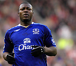 Everton's Yakubu. during the Premier League match at the Stadium of Light, Sunderland. Picture date 9th March 2008. Picture credit should read: Richard Lee/Sportimage