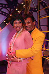On stage and in costume - The Classical Theatre of Harlem, Inc presents Archbishop Supreme Tartuffe starring Andre De Shields (ATWT) and Kim Brockington (GL) on July 12, 2009 at the Clurman Theatre in Theatre Row, New York City, New York. (Photo by Sue Coflin/Max Photos)