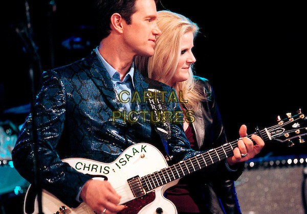 "CHRIS ISAAK & TRISHA YEARWOOD.in The Chris Isaak Show.""The Hidden Mommy"".Ref: FB.*Editorial Use Only*.www.capitalpictures.com.sales@capitalpictures.com.Supplied by Capital Pictures."