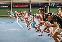 Almere, Netherlands, 24 september 2016, fotoshoot Jong Oranje, fitness test<br /> Photo: Tennisimages.com/Henk Koster