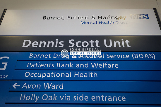 Dennis Scott Unit at Edgware Community Hospital, Barnet, Enfield & Haringey Mental Health Trust, London UK - provides treatment & support to people with complex mental health problems as well as being the home to Barnet Drug & Alcohol Service