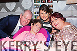 Susan O'Neill Mastergeeha celebrated her 21st birthday with her family l-r: Dermot, Katie and Sheila in the Killarney Heights hotel on Friday night