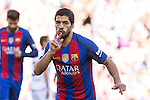 FC Barcelona's Luis Suarez during the La Liga match between Futbol Club Barcelona and Deportivo de la Coruna at Camp Nou Stadium Spain. October 15, 2016. (ALTERPHOTOS/Rodrigo Jimenez)