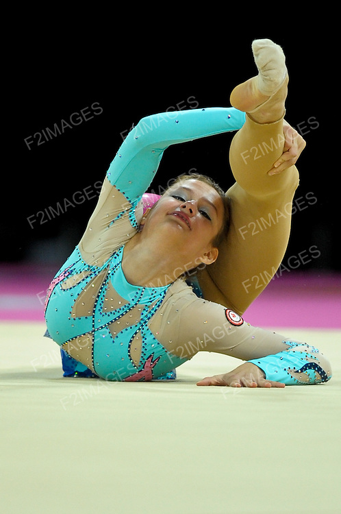 Rhythmic World Championships Montpelier France 20.9.11. Individual Competition Hoop & Ball.CAN 2 Maria KITKARSKA