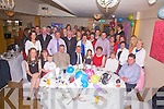 Noreen O'Connor from Spunkane, Waterville seated 3rd from the right celebrated her 60th birthday with family and friends at the Ring of Kerry Hotel in Cahersiveen on Saturday night last.