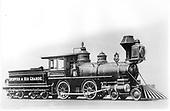 D&amp;RG locomotive #88 &quot;Ptarmigan&quot; built in 1880.<br /> D&amp;RG    Taken by Baldwin Locomotive Works, - 7/1880