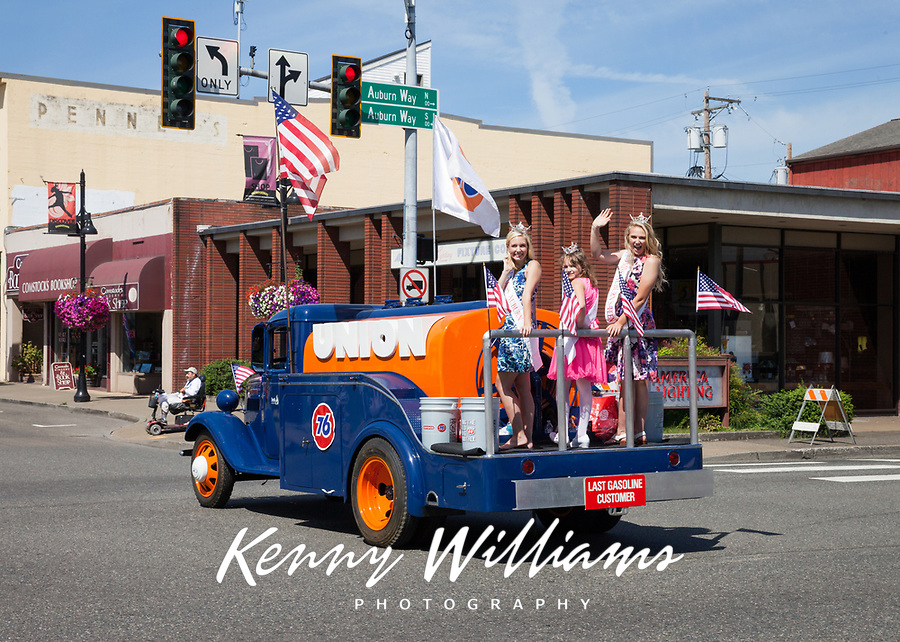 Auburn Days Parade 2016, Auburn, Washington State, USA.